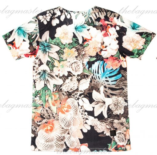 Peppered Gravy Supreme Floral Printed T-Shirt