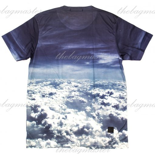 Peppered Gravy Above the Clouds Printed T-Shirt