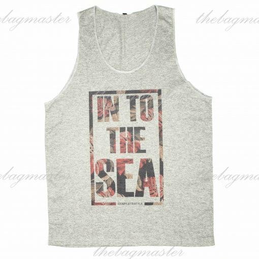 Peppered Gravy In to the Sea Printed Sando / Singlet