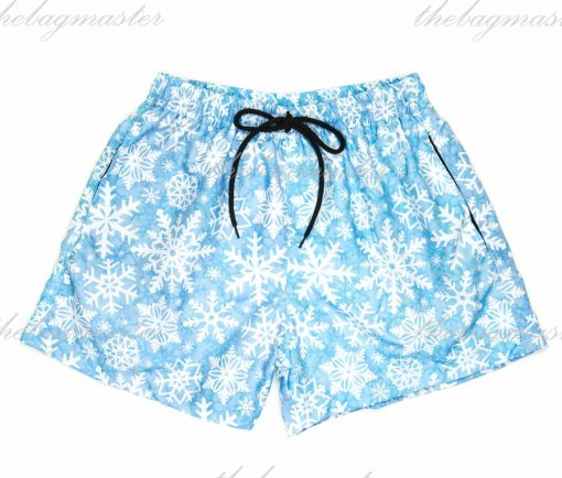 Peppered Gravy Snowflakes Printed Shorts