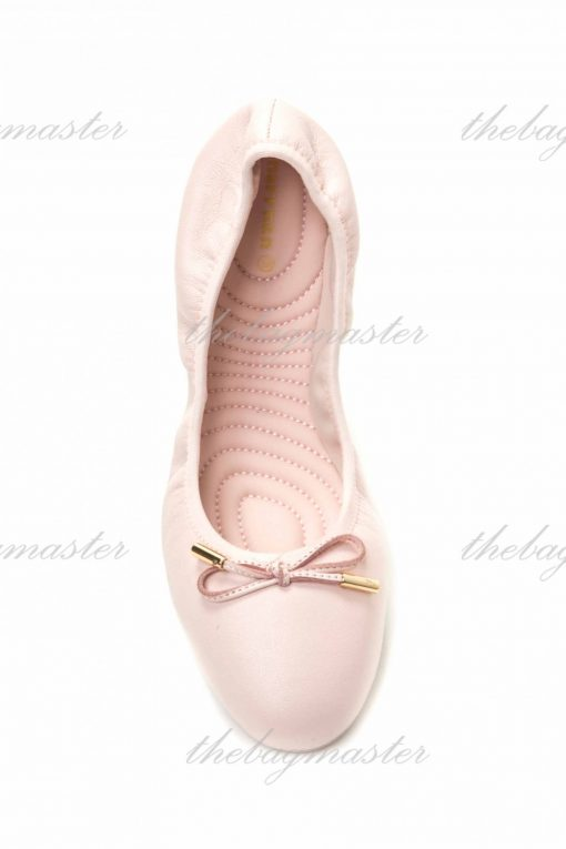 Narrnan Leather Casual/Dancing Shoes - Baby Pink (Size US 7 1/2 - UK 38)