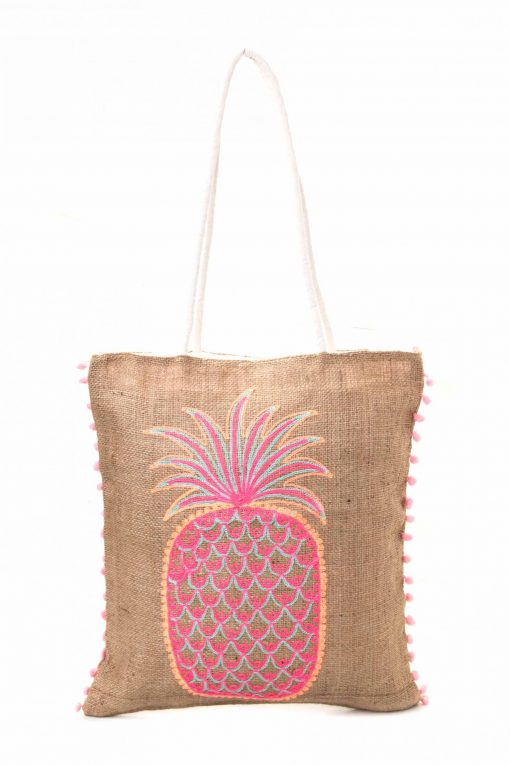 Balinese Woven Tote Bag - Antique
