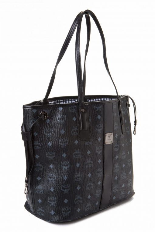 MCM Tote Bag with Pouch - Black