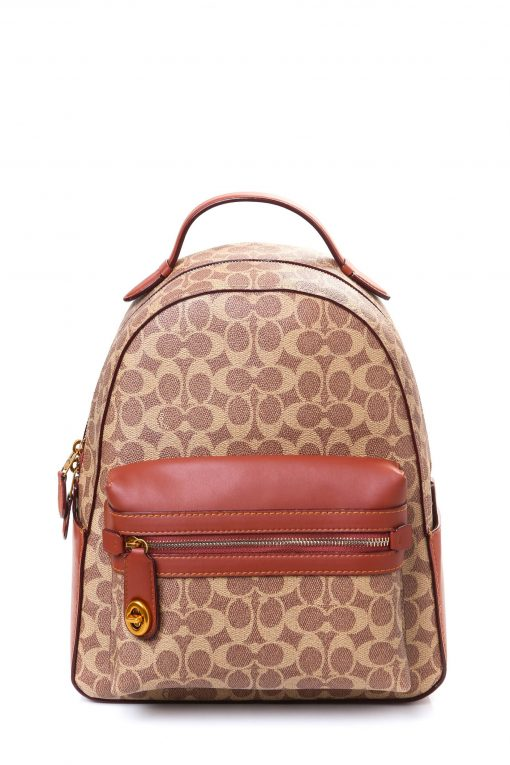 Coach Women's Campus Backpack 23 in Coated Canvas Signature