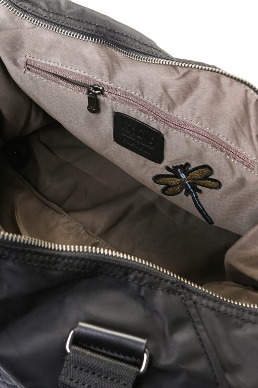Kipling x Christine Lau Collection Art M Dragonfly Embroidery - Black