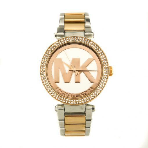 Michael Kors Parker Rose Gold and Silver-tone Ladies Watch MK6314