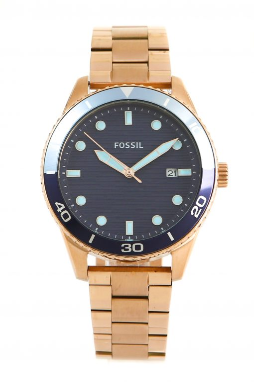 Fossil Dayle Women's Three-Hand Date Gold-Tone Stainless Steel Watch BQ3599