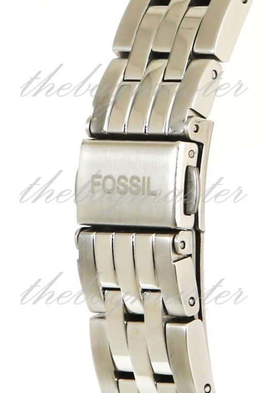 Fossil FB-01 Three-Hand Date Stainless Steel Watch ES4742