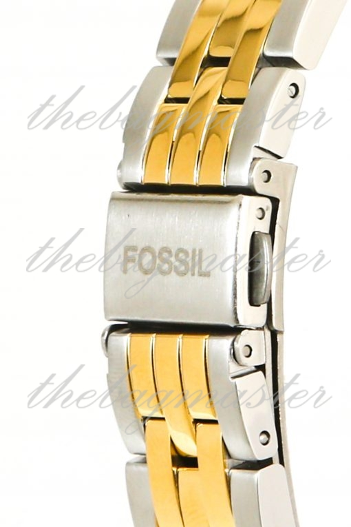 Fossil FB-01 Three-Hand Date Two-Tone Stainless Steel Watch ES4745