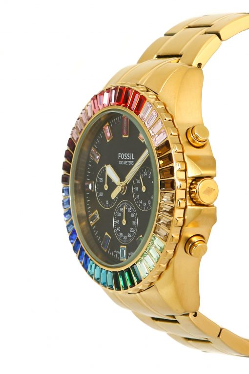 Fossil Limited Edition Garrett Chronograph Gold-Tone Stainless Steel Watch LE1069
