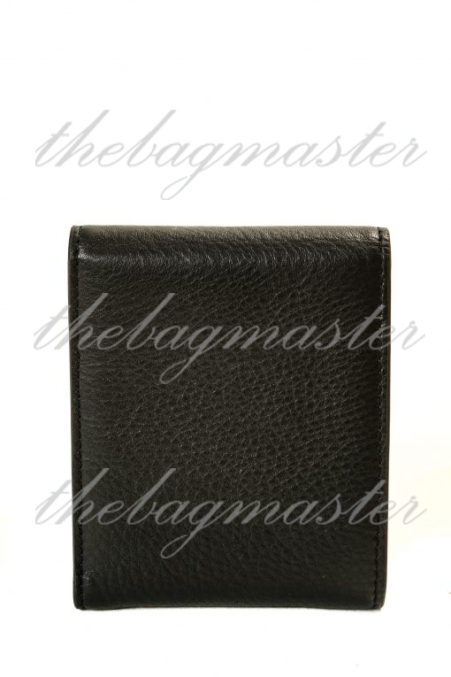 Burberry French Leather Wallet - Black