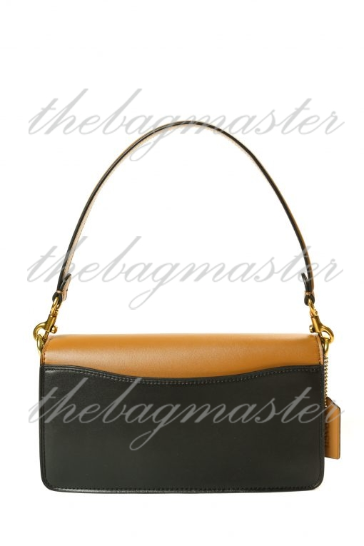 Coach Tabby Shoulder Bag In Blocked Signature Canvas