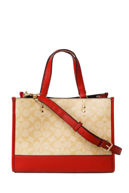 Coach Lunar New Year Dempsey Carryall In Signature Canvas With Ox And Carriage