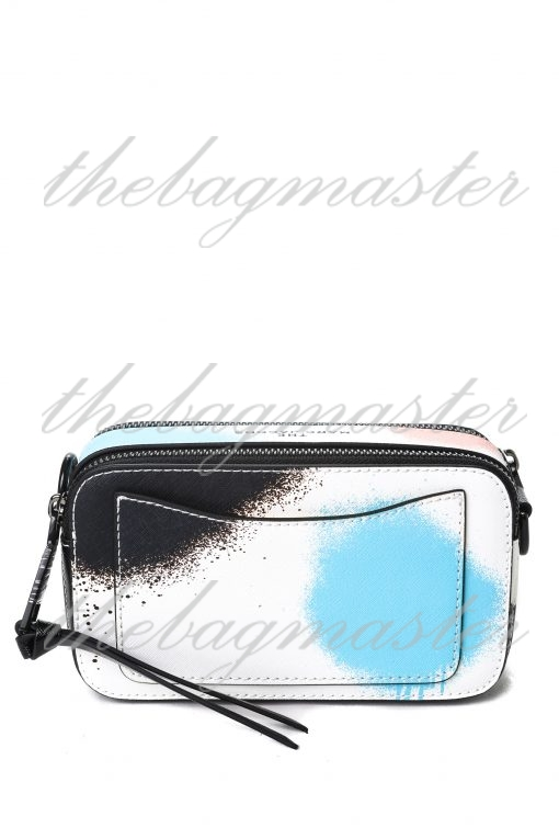 Marc Jacobs Saffiano Leather Snapshot Camera Bag - Painted Multicolor