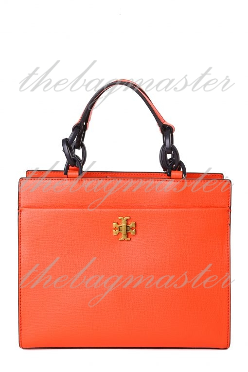 Tory Burch Kira Small Leather Tote - Red