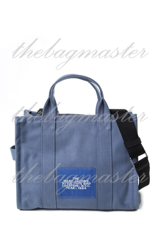 Marc Jacobs The Small Traveler Tote Bag - Blue Shadow