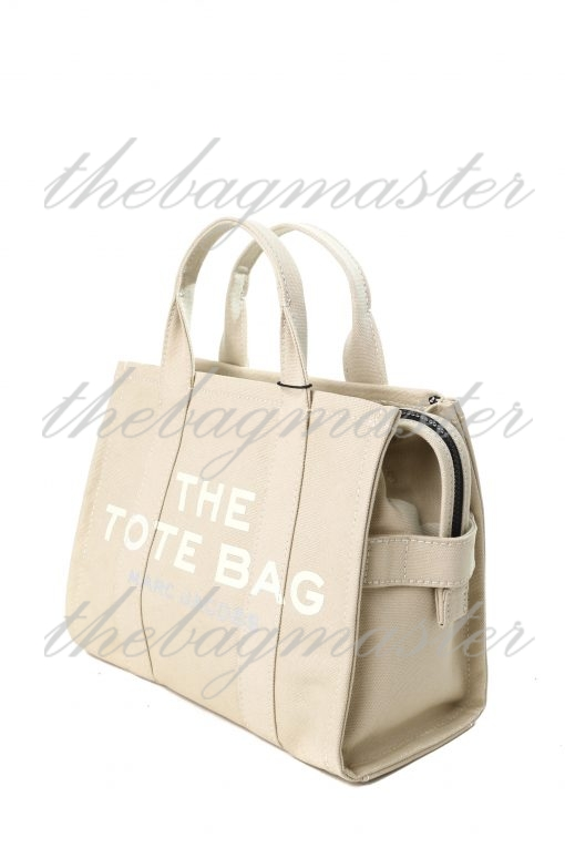 Marc Jacobs The Small Traveler Tote Bag - Beige