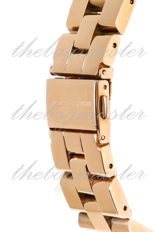 Marc Jacobs Henry Skeleton Rose Gold Plated Women's Watch MBM3264