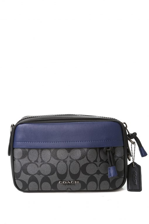 Coach Graham Crossbody in Signature Canvas - Navy/Charcoal